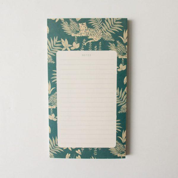 Bloc-notes - Jungle season paper - maison mathuvu