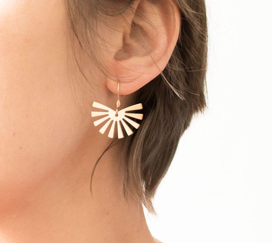 Boucles d'oreilles - Sana maison mathuvu
