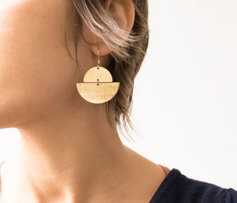 Boucles d'oreilles - Anna maison mathuvu