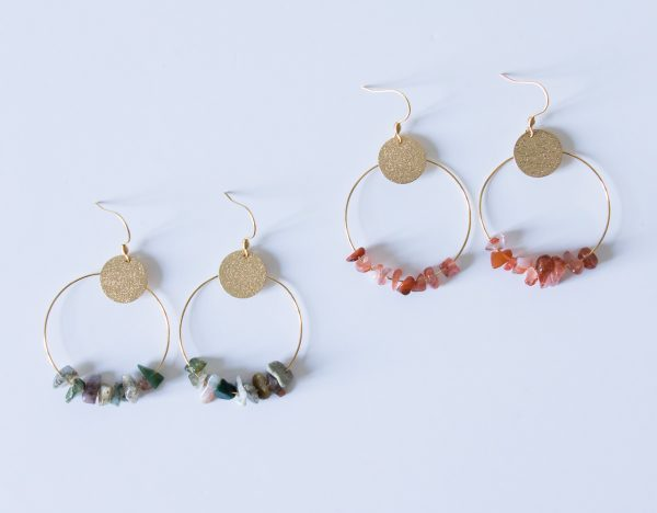 Boucles d'oreilles - Anni maison mathuvu