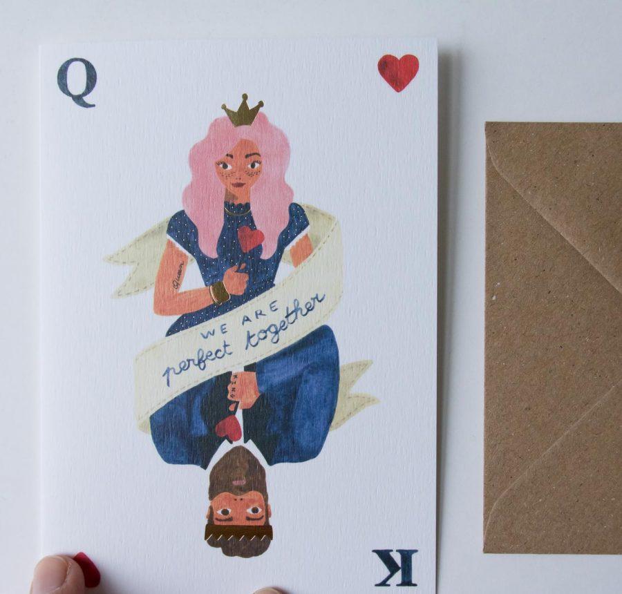 Carte - Roi et reine all the ways to say - maison mathuvu