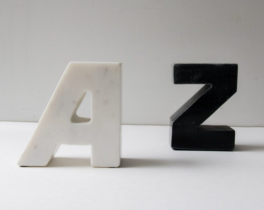 Serre-livres - Alphabet chehoma - maison mathuvu