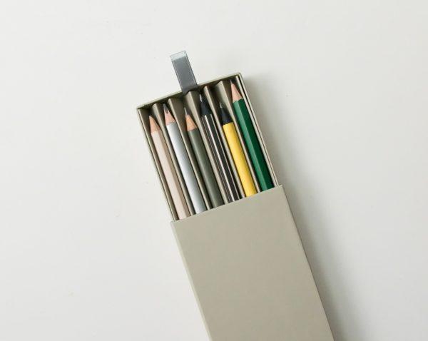 Set de 6 crayons à papier monograph - maison mathuvu