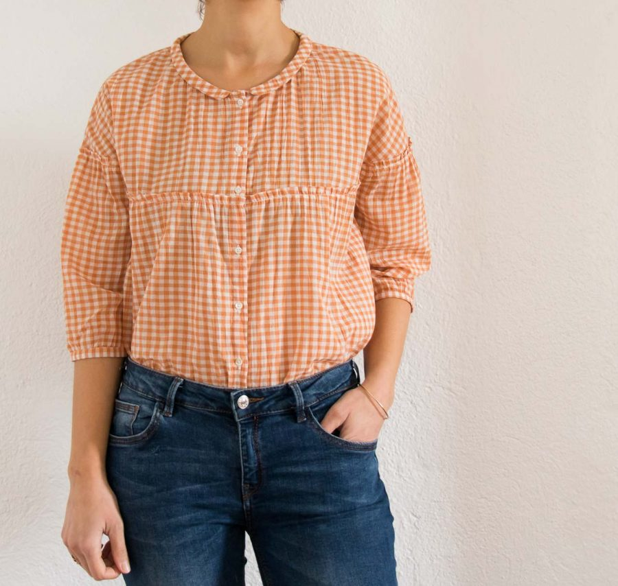 Blouse - Vichy Maple emile et ida - maison mathuvu