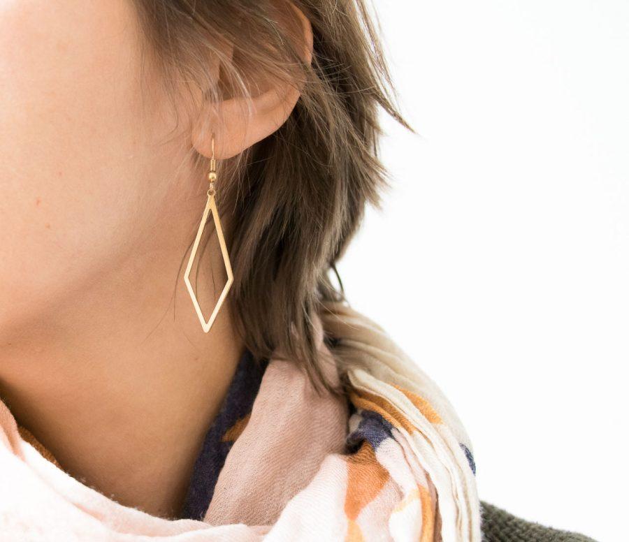 Boucles d'oreilles - Typa maison mathuvu