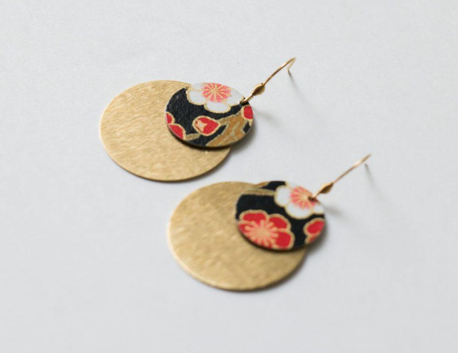 Boucles d'oreilles – Lili Jade #1 Maison Mathûvû