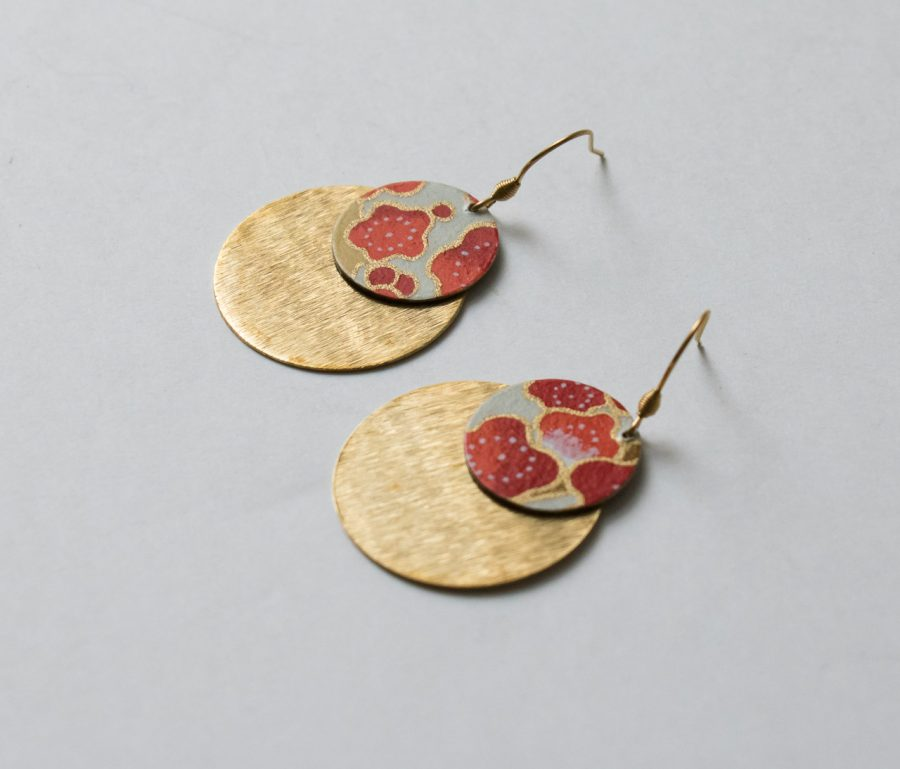 Boucles d'oreilles - Lili Jade #2 Maison Mathûvû