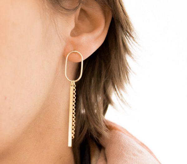 Boucles d'oreilles - Arie maison mathuvu