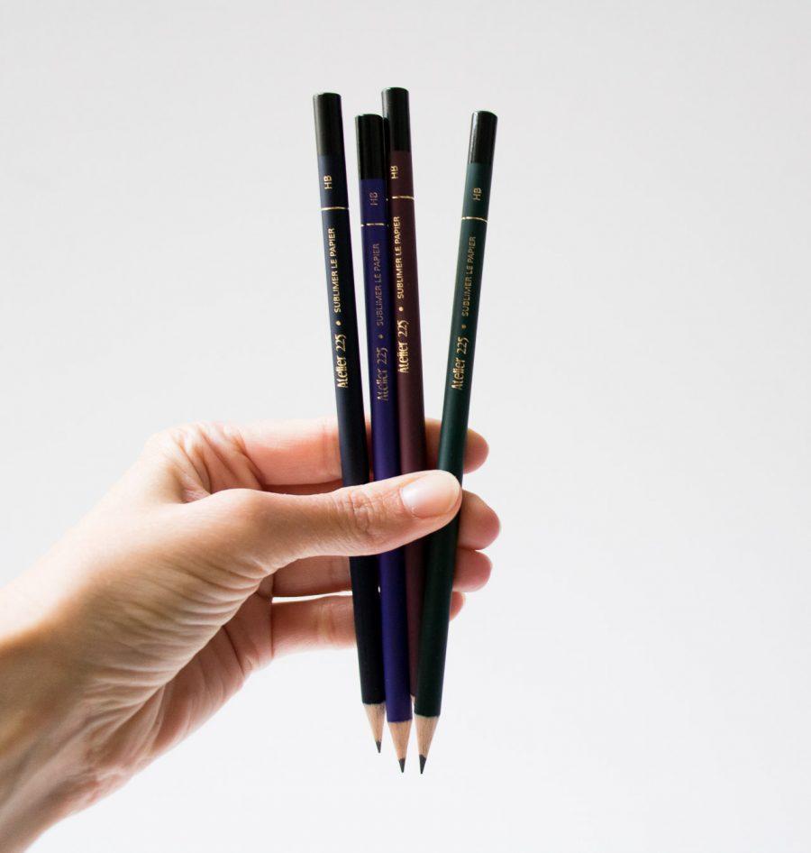 Crayon à papier coloré Atelier 225 - maison mathuvu