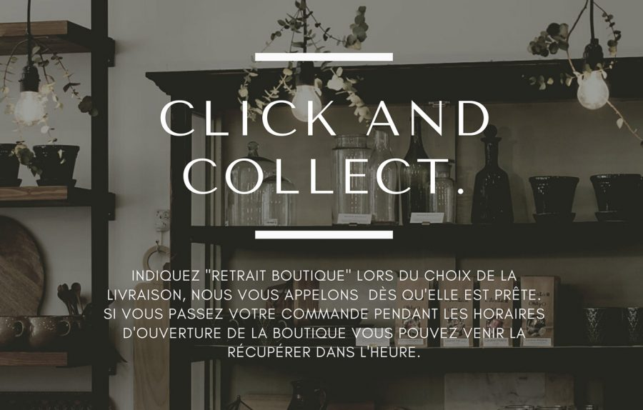 Click and collect Maison Mathûvû