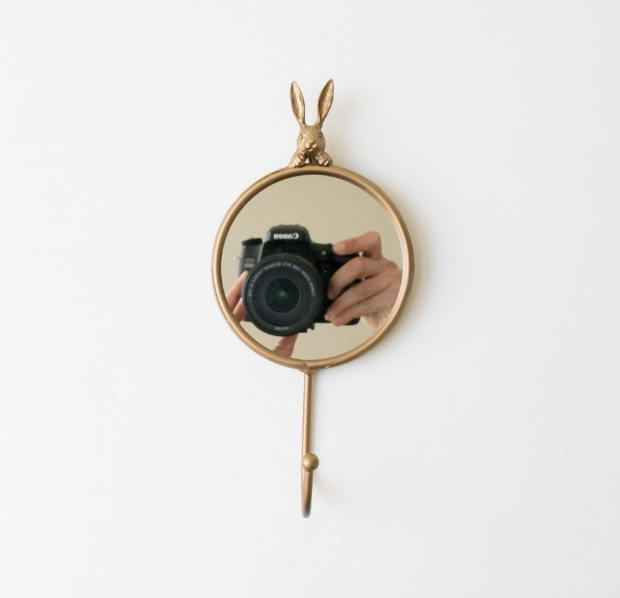 Miroir patère - Lapin chehoma - maison mathuvu