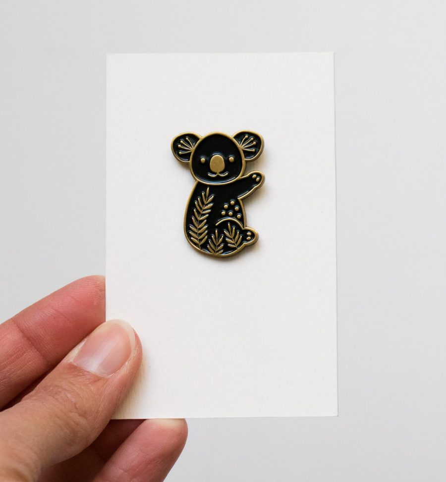 Broche - Koala Maggie Magoo - maison mathuvu