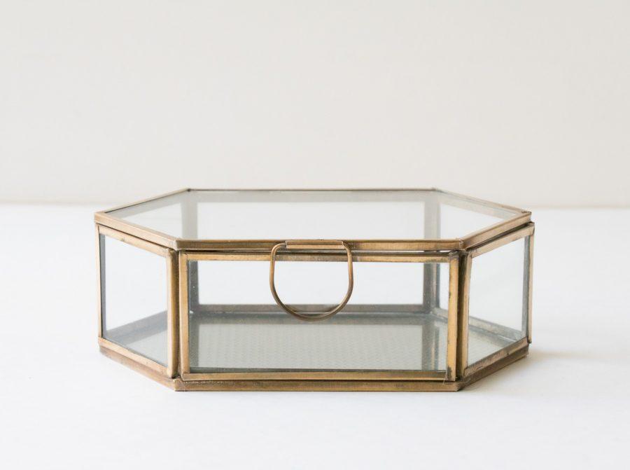 Boîte - Hexagonale chehoma - maison mathuvu