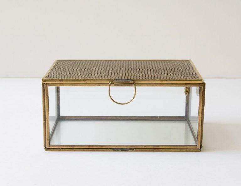 Boîte rectangulaire - Miroir chehoma - maison mathuvu