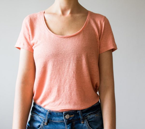 T-shirt basique lin - Rose Ese o ese - maison mathuvu