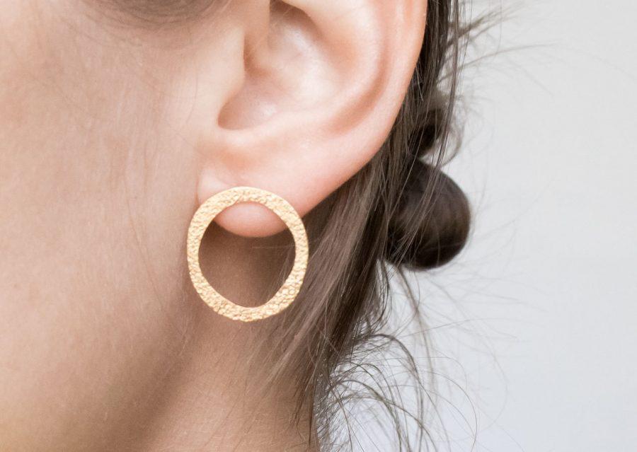 Boucles d'oreilles - Hateya ovale stanka mila - maison mathuvu