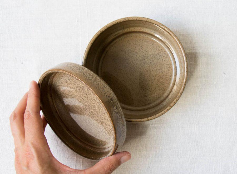 Pot couleur chocolat bloomingville - maison mathuvu