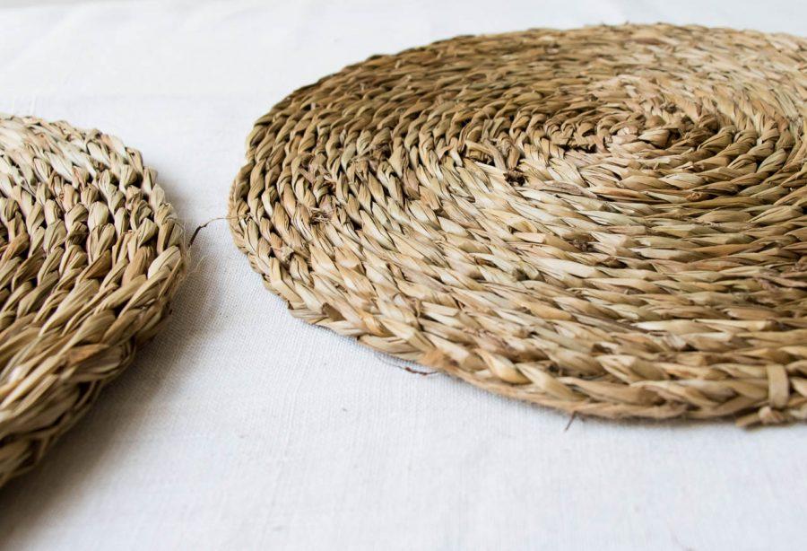 Lot de 2 sets de table - Acain nature Nicolas vahé - maison mathuvu