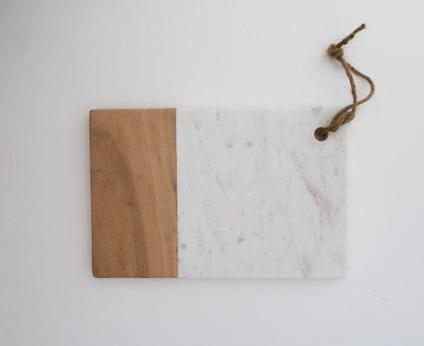 Planche en marbre rectangulaire - Idli ¨Pomax - maison mathuvu