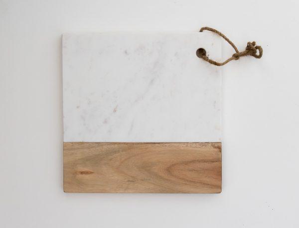 Planche en marbre carrée - Idli Pomax - maison mathuvu