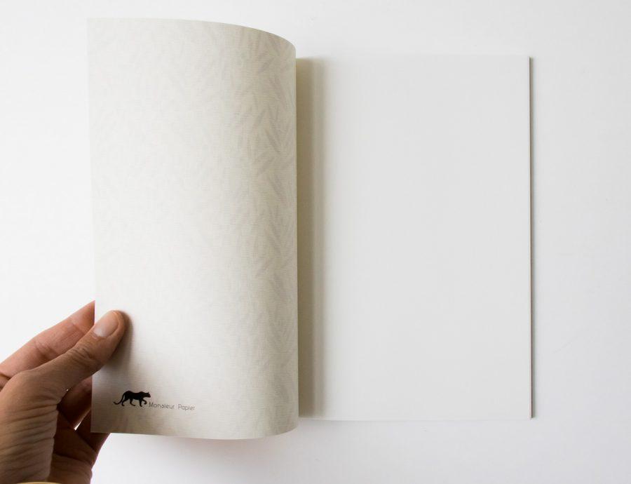 Carnet - Bambous Monsier papier - maison mathuvu