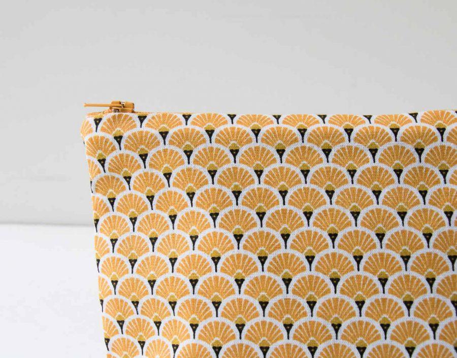 Pochette Auro - Paon jaune maison mathuvu