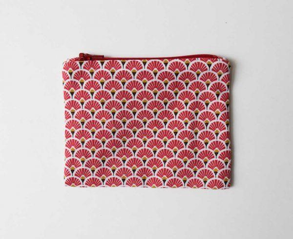 Pochette Luji - Paon rouge maison mathuvu