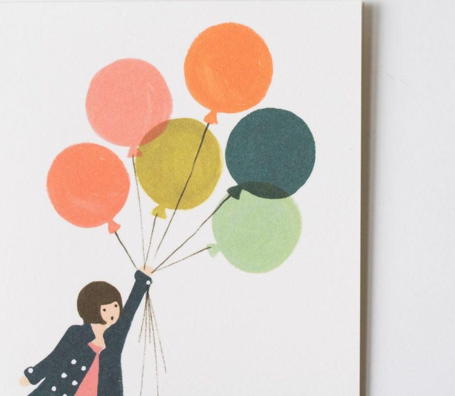 Carte - Ballons rifle paper co - maison mathuvu