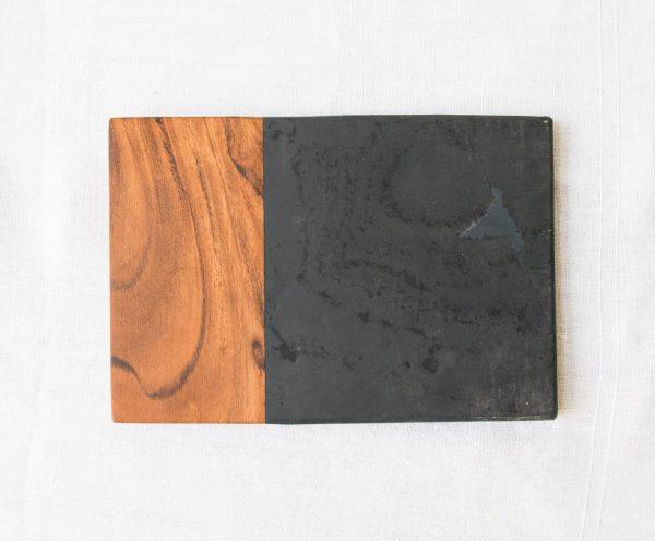 Planche marbre et bois - Fala nkuku - maison mathuvu