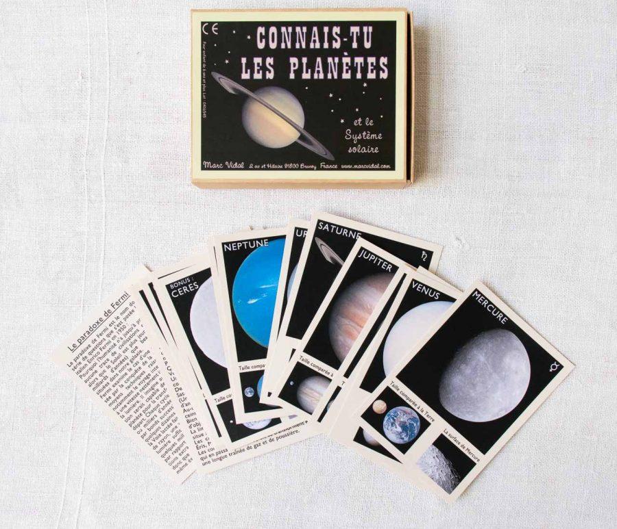 Connais-tu les planètes Marc vidal - maison mathuvu