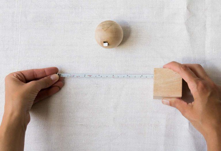 Mètre géométrique - Hansa nkuku - maison mathuvu