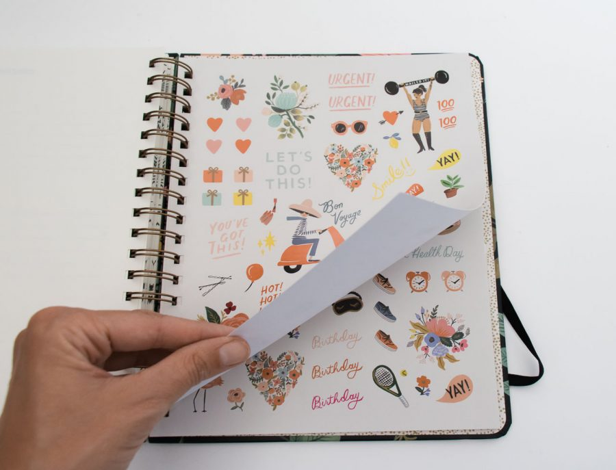 Agenda 2021 - Strawberry GM Rifle paper co - maison mathuvu