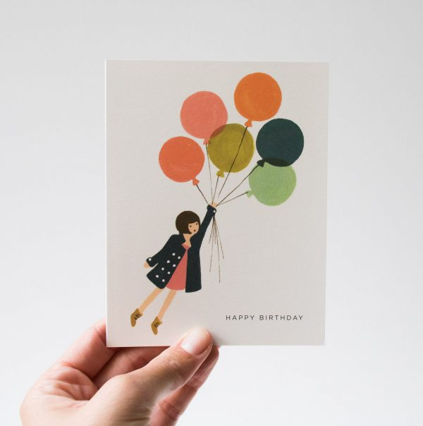 Carte - Ballons rifle paper co - maison mathuvu