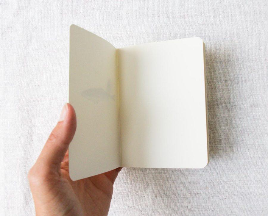 Carnet de poche - Sardine Season paper - maison mathuvu