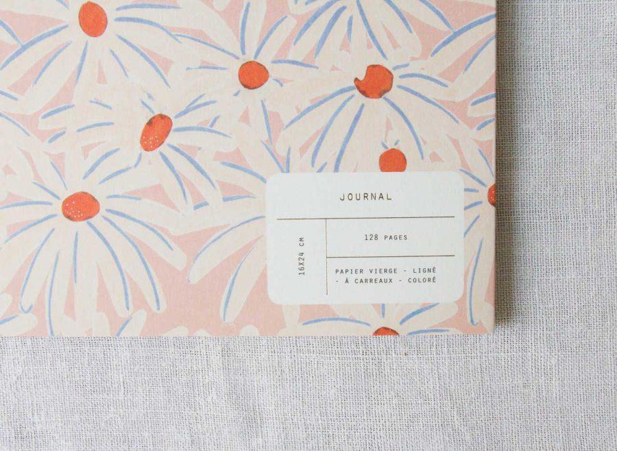 Journal - Daisy season paper - maison mathuvu