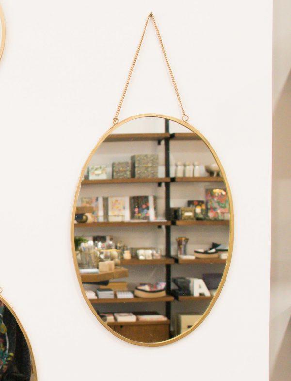 Miroir - Oval Madam Stoltz Maison Mathûvû