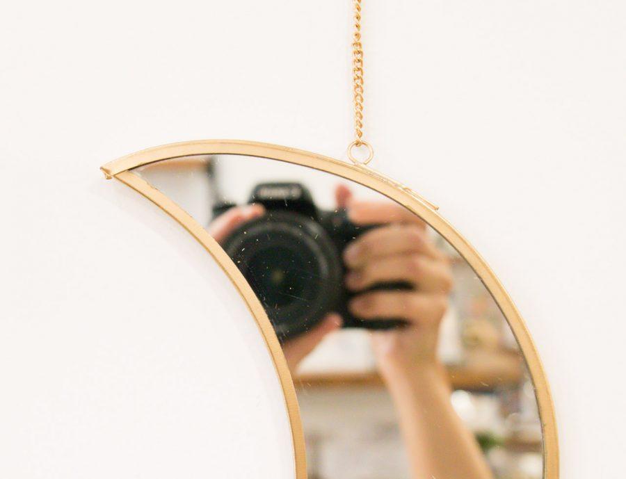 Miroir - Lune petit modèle Madam Stoltz Maison Mathûvû