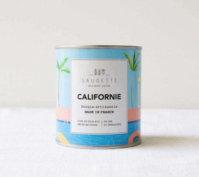 Bougie - Californie Saugette - maison mathuvu