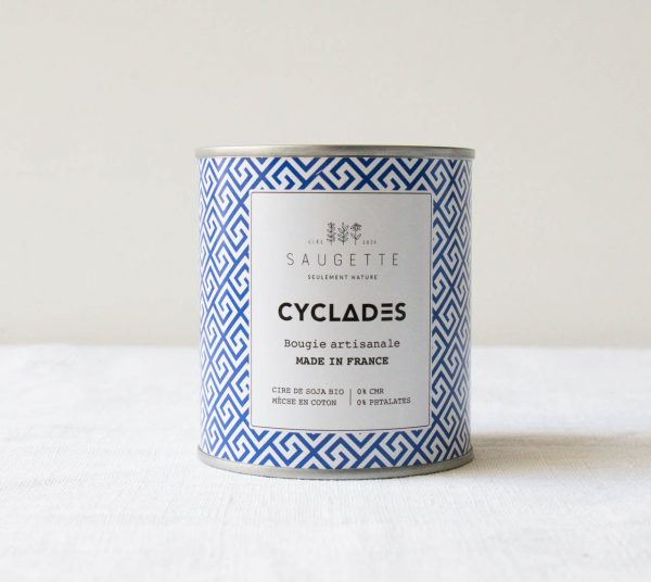 Bougie - Cyclades Saugette - maison mathuvu
