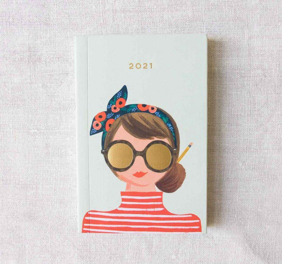 Agenda 2021 pocket - Girl Rifle paper co - maison mathuvu