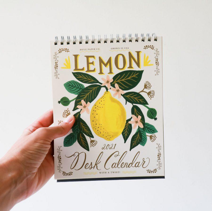Calendrier 2021 - Lemon rifle paper co - maison mathuvu