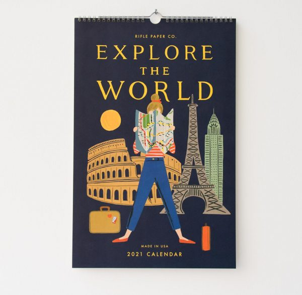 Calendrier 2021 - World Rifle paper co - maison mathuvu