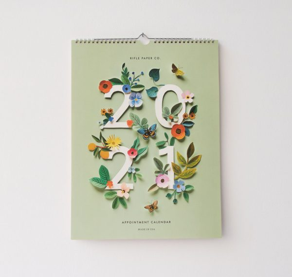 Calendrier 2021 - Garden Rifle paper co - maison mathuvu
