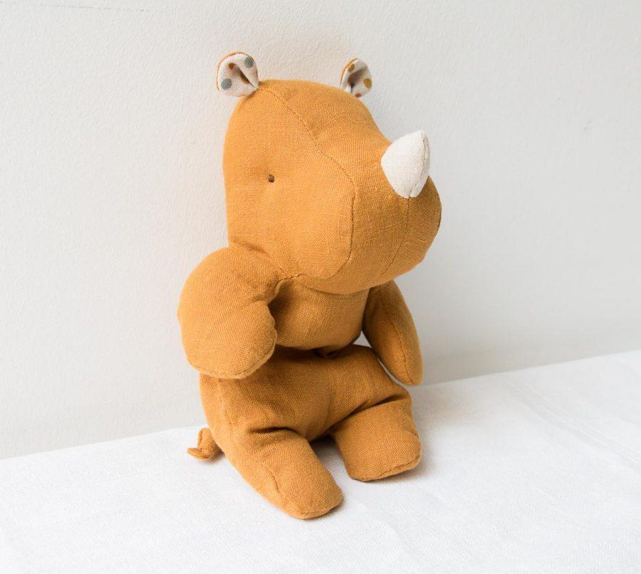 Peluche - Rhinocéros maileg - maison mathuvu