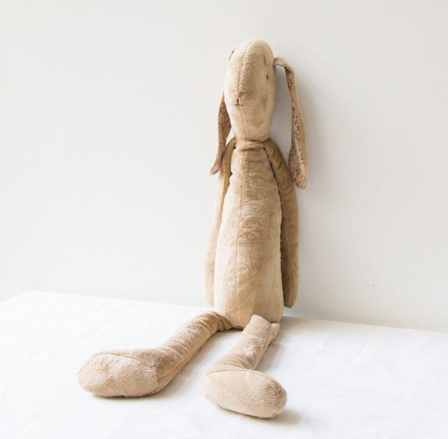 Peluche lapin - Géant Maileg - maison mathuvu