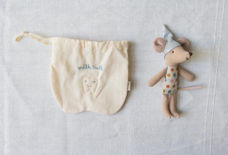 Souris bébé - Fée des dents Maileg - maison mathuvu