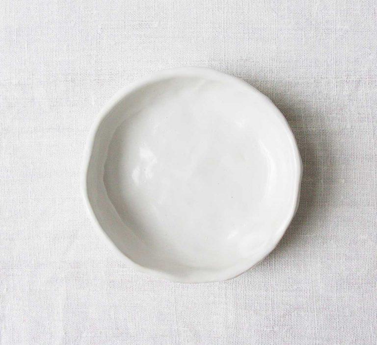 Coupelle blanche - Brut maison mathuvu