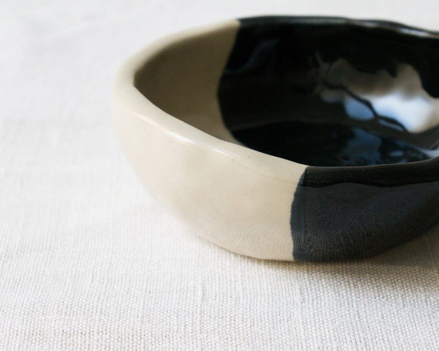 Coupelle Yaya - Email noir Maison Mathûvû