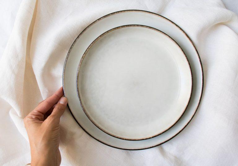 Assiette - Amera blanche Lene bjerre - maison mathuvu