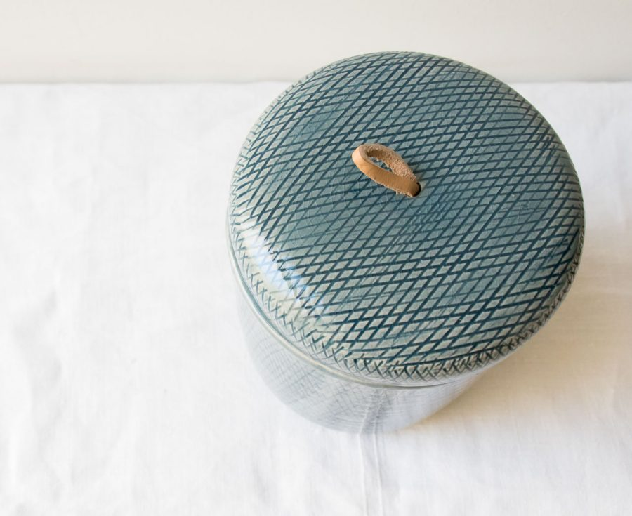 Pot Claribel - Bleu Lene bjerre - maison mathuvu